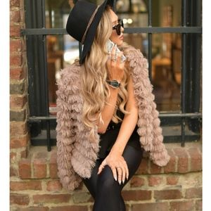 SAMANTHA Faux Fur Jacket